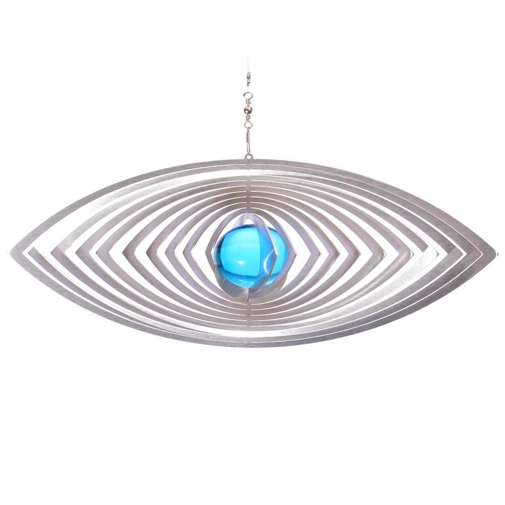 Windspiel auge oculus mit 35mm glaskugel illumino for Gartendeko sale