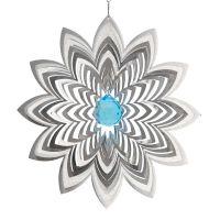 Windspiel Blüte Azalea mit 30mm Kristallkugel