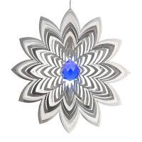 Windspiel Blüte Azalea mit 40mm Kristallkugel