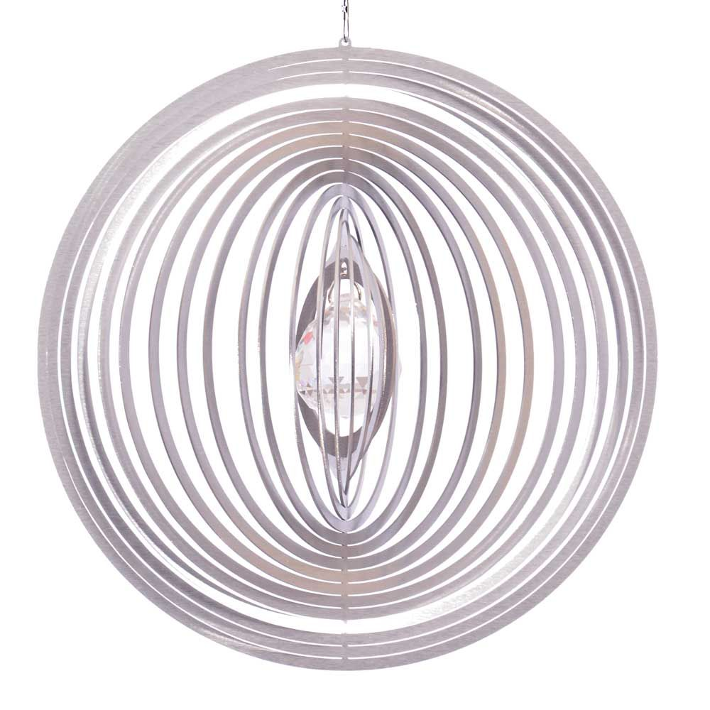 ... Windspiel Kreis Circolo XL Mit 40mm Kristallkugel