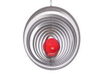 Windspiel Kreis Exzentra -L mit 50mm Glaskugel