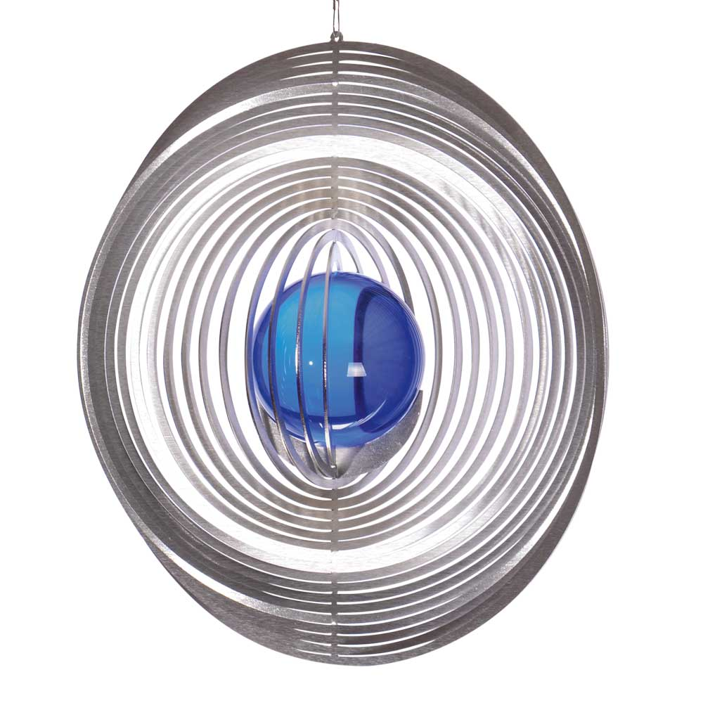 Windspiel kreis m mit 35mm glaskugel illumino for Gartendeko sale