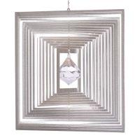 Windspiel Quadrat Quadro L mit 30mm Kristalldiamant