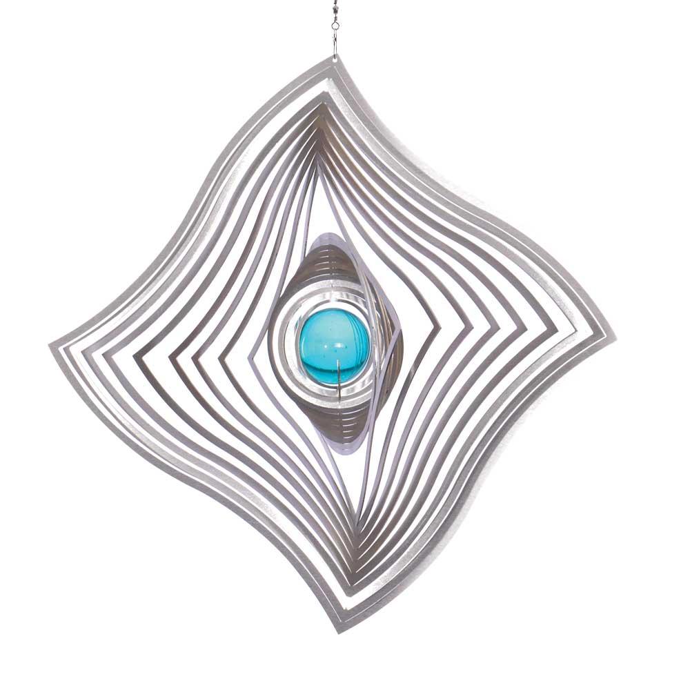 Windspiel windfahne m mit 35mm glaskugel illumino for Gartendeko sale