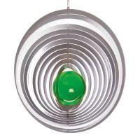 Windspiel Kreis Exzentra mit 35 mm Glaskugel