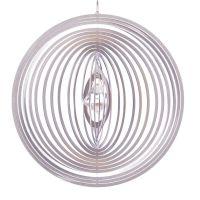 Windspiel Kreis Circolo XL mit 40mm Kristalldiamant