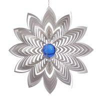 Windspiel Blüte Azalea mit 50mm Glaskugel